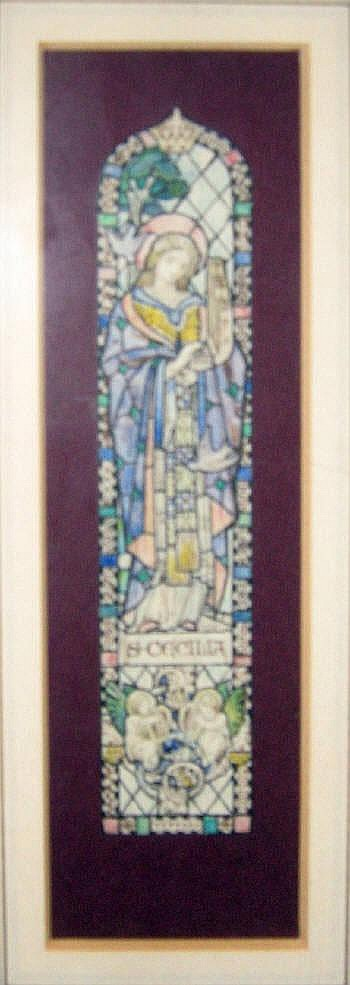 SIDNEY HAROLD METEYARD (1868-1947), 'St. Cecilia -