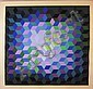 VICTOR VASARELY (1906-1997), 'Composition', colour