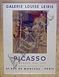 PABLO PICASSO (1881-1972), lithograph, poster for