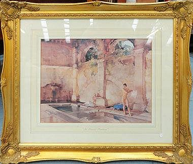 AFTER WILLIAM RUSSELL FLINT, 'In classic Provence'