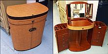 STARBAY COMPACTUM DRESSING TABLE, light tanned lea