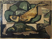 AFTER GEORGES BRAQUE (French, 1882-1963), 'Still Life', circa 1950, lithogr