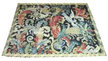 LATE 17TH CENTURY WALL TAPESTRY, 240cm x 183cm, flowers and birds in variou