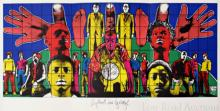 GILBERT AND GEORGE (Italian/British), 'Death after life' archival inkjet, 2