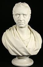Wedgwood Parian Bust, R. Stephenson