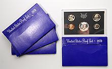 Four-United States Proof Sets, 1970