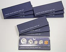 (10) United States Special Mint Set, 1966