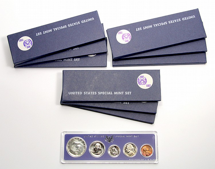 10 United States Special Mint Set, 1967