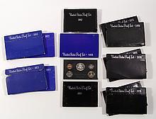 (13)U.S. Proof Sets 1968-'69, '71-78, '80,82-'83