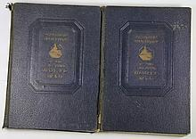 Books, (2 Volumes) Pictorial History of WWII