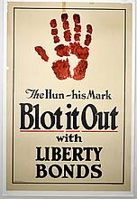 WWI The Hun His Mark, Blot It Out, Allen St. John