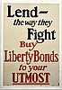 WWI Lend The Way They Fight Buy Liberty Bonds