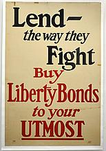 WWI Lend The Way They Fight, Buy Liberty Bonds