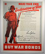 WWII Make Your Own Declaration of War