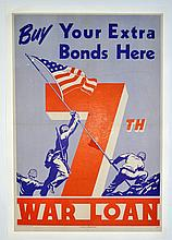 WWII Buy Your Extra War Bonds Here War Loan