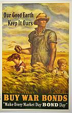 WWII Our Good Earth, Keep it Ours, J.S. Curry