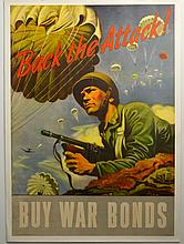 WWII Back The Attack, Buy War Bonds, Schreiber