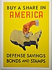 WWII Buy a Share In America, Henry Billing, Small