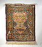 Prayer Rug , Silk, Turkey, 20th c.