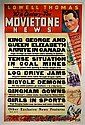 Movie Newsreel Poster,
