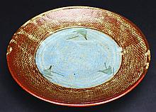 Plate, Shimaoka Tatsuzo, 1919-2007