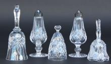 Glass, 5 Pcs, Waterford Crystal, 20th Century
