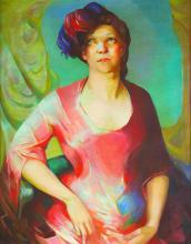 O/C Portrait Robert Genung/Newcomb Macklin frame