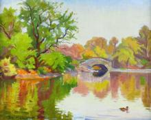 O/C J. Margulies 'Central Park'