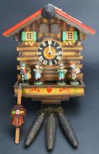 Clock, German Cuckoo, Kuner Band Musical