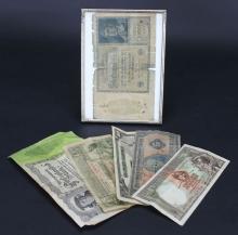 Money, Post-WWI, Germany, Uraguay, Brazil, Mexico