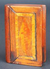 Puzzle snuff box, book form, 19th century