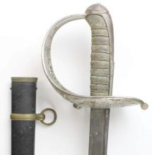 Sword, W.K.&C. w/Scabbard, 19th C.