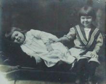 Naval Heros, Drexler Children, Santa Letter, 1903