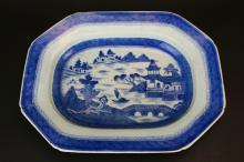 Chinese Export Serving Platter, Canton, c. 1830