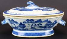 Chinese Export Tureen, Covered, Canton, C. 1840