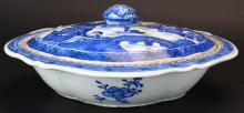Chinese Export Covered Bowl, Canton, C. 1840