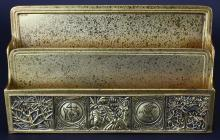 Letter Holder, Tiffany Studios,NY, Greek Symbols