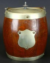 Ice Bucket, Barrel Form, c. 1880