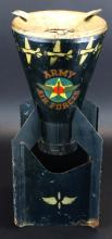 Smoking Stand, WW2 Army Air Forces, Half Bomb