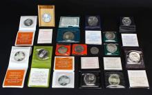 (16) Israeli Coins, Commemorative
