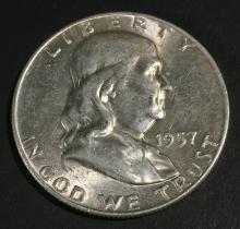 1957-D Franklin $ .50 MS62