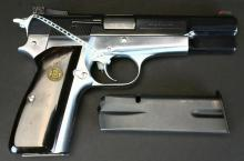 Browning Hi Power 9mm, Custom, Millet Sights