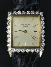 Patek Philippe 18K & Diamond Watch