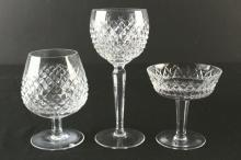 (79) Cut Glass Crystal Service Set, Waterford