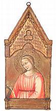 SCUOLA TOSCANA DEL XV SECOLO'Santa Caterina d'Alessandria'tempera su tavo