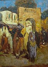 Dipinto tratto ad olio su tavola  cm 33 x 23,2  ra