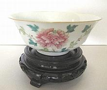 Chinese Tongzhi mark and period porcelain bowl