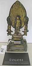 Chinese Eastern Wei gilt bronze figure Buddha with