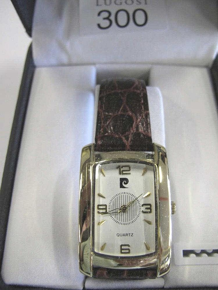 Pierre Cardin box man's wristwatch