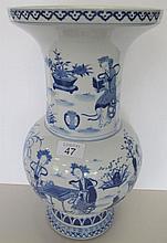 Large Chinese fine porcelain underglaze blue vase